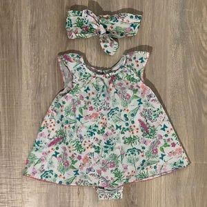 Tommy Bahama infant floral dress
